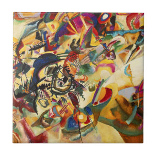 Kandinsky Composition VII Tile