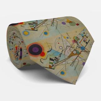 Kandinsky Composition VIII Abstract Neck Tie