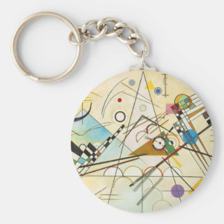 Kandinsky Composition VIII Key Chain