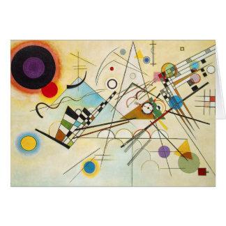 Kandinsky Composition VIII Note Card