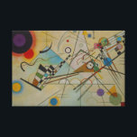 """Kandinsky Composition VIII Painting Wrapped Canvas<br><div class=""""desc"""">Contemporary Abstract Art Master Wassily Kandinsky&#39;s &#39;Composition VIII&#39; Painting Modern Painters and Artists</div>"""
