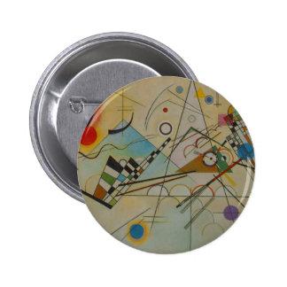 Kandinsky Composition VIII Pinback Button