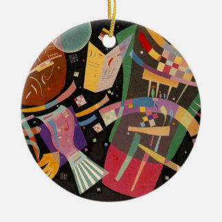 Kandinsky Composition X Abstract Artwork Ceramic Ornament