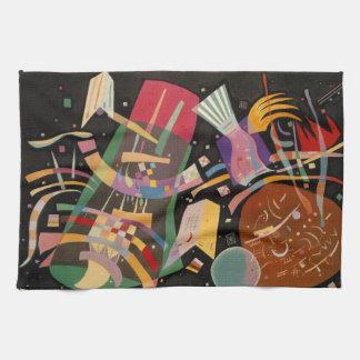 Kandinsky Composition X Abstract Artwork Hand Towel