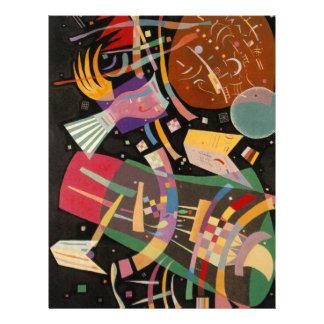 Kandinsky Composition X Abstract Artwork Letterhead