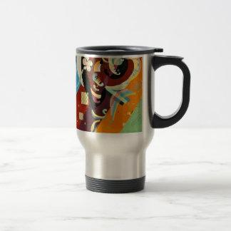 Kandinsky Compositon abstracto IX Taza De Viaje De Acero Inoxidable