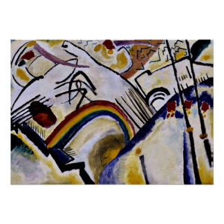 Kandinsky - Cossacks Poster