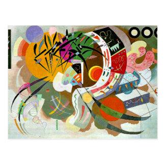 Kandinsky - curva dominante tarjeta postal