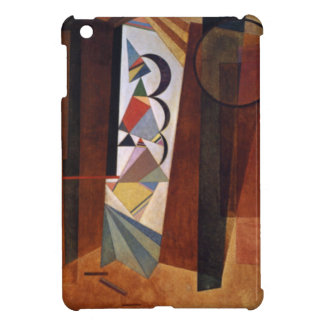 Kandinsky Development in Brown Abstract Painting Cover For The iPad Mini