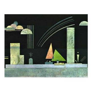 Kandinsky - en descanso postales