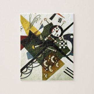 Kandinsky en el blanco II Puzzles Con Fotos