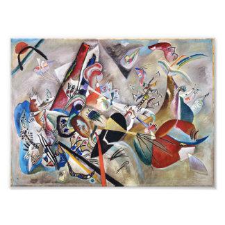 Kandinsky en gris arte con fotos