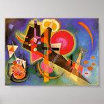 Kandinsky en poster azul
