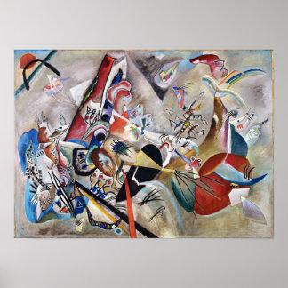 Kandinsky en poster gris