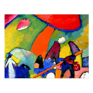 Kandinsky - escena de la playa postales