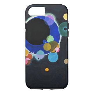 Kandinsky extracto de varios círculos funda iPhone 7