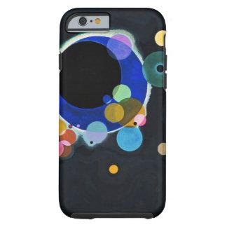 Kandinsky extracto de varios círculos funda resistente iPhone 6