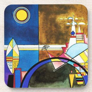 Kandinsky Great Gate of Kiev Coasters