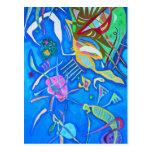 Kandinsky Grouping Postcard
