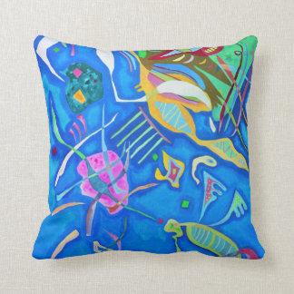 Kandinsky Grouping Throw Pillow