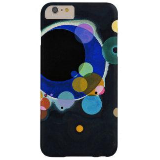 Kandinsky ilustraciones de varios círculos funda barely there iPhone 6 plus
