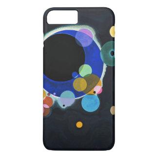 Kandinsky ilustraciones de varios círculos funda iPhone 7 plus