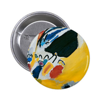 Kandinsky Impression III Concert Abstract Painting Button