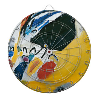 Kandinsky Impression III Concert Abstract Painting Dartboard