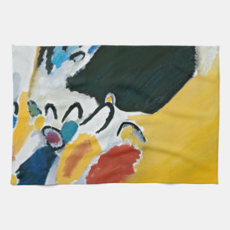 Kandinsky Impression III Concert Abstract Painting Kitchen Towel