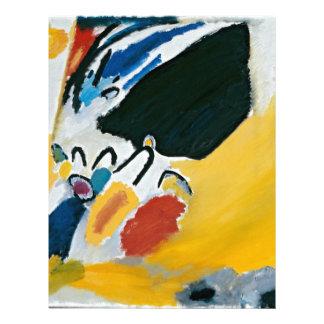 Kandinsky Impression III Concert Abstract Painting Letterhead