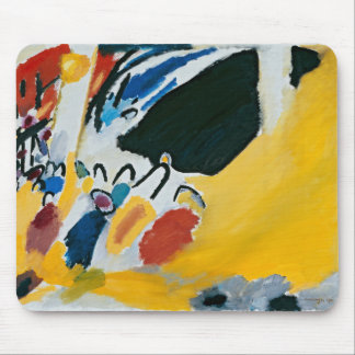 Kandinsky Impression III Concert Abstract Painting Mouse Pad