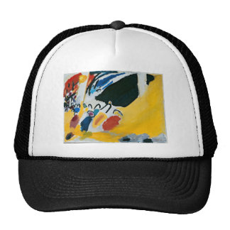 Kandinsky Impression III Concert Abstract Painting Trucker Hat