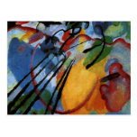 Kandinsky - improvisación 26, remando tarjetas postales