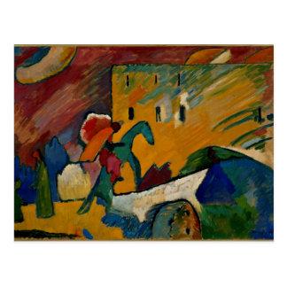Kandinsky - improvisación 3 tarjeta postal