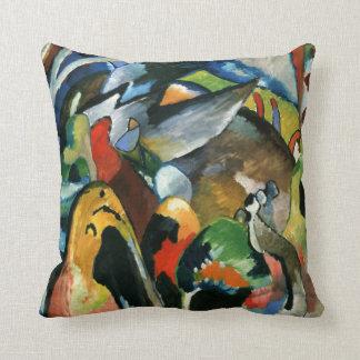 Kandinsky - Improvisation 19A Throw Pillow