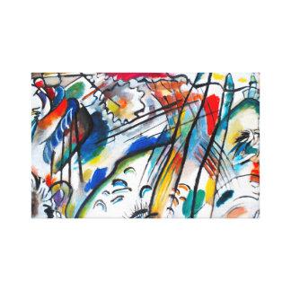 Kandinsky Improvisation 28 Canvas Print