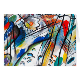 Kandinsky Improvisation 28 Greeting Card