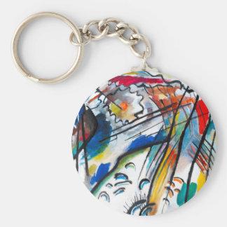 Kandinsky Improvisation 28 Keychain