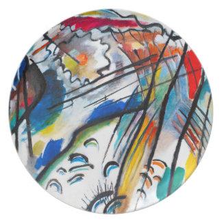 Kandinsky Improvisation 28 Plate