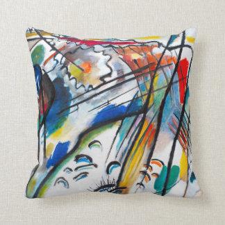 Kandinsky Improvisation 28 Throw Pillow