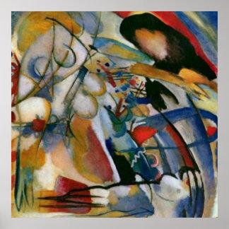 Kandinsky Improvisation 33 Orient Abstract Artwork Poster