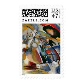 Kandinsky Improvisation 33 Orient Abstract Stamp