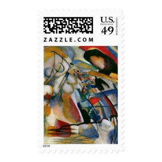 Kandinsky Improvisation 33 Orient Abstract Stamps