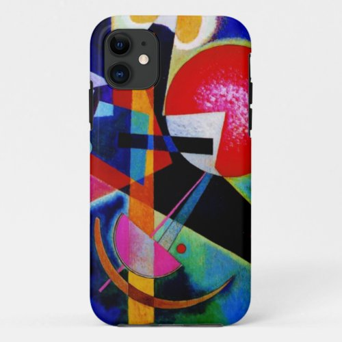 Kandinsky in Blue Abstract Painting Phone Case