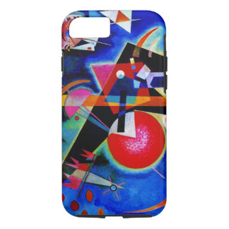 Kandinsky in Blue Abstract Painting iPhone 8/7 Case