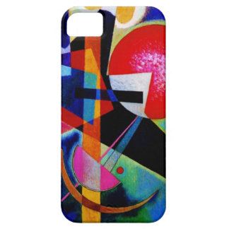 Kandinsky in Blue Abstract Painting iPhone SE/5/5s Case