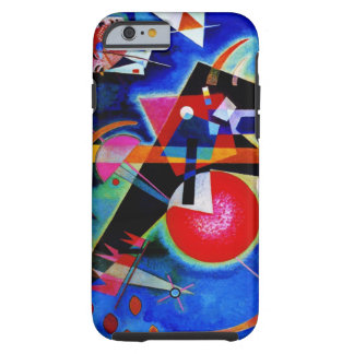 Kandinsky in Blue Abstract Painting Tough iPhone 6 Case
