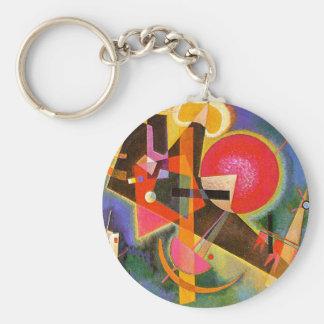 Kandinsky In Blue Key Chain