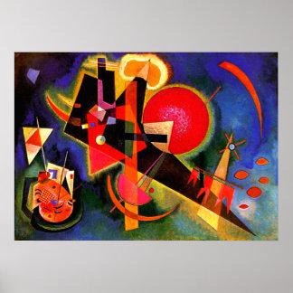 Kandinsky - In Blue Poster
