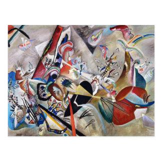 Kandinsky In Gray Postcard